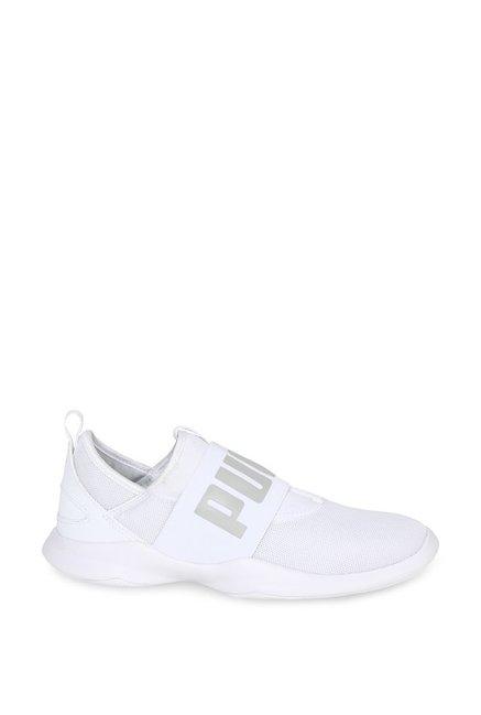 8b4d4717a04491 Buy Puma Dare White Training Shoes for Men at Best Price   Tata CLiQ
