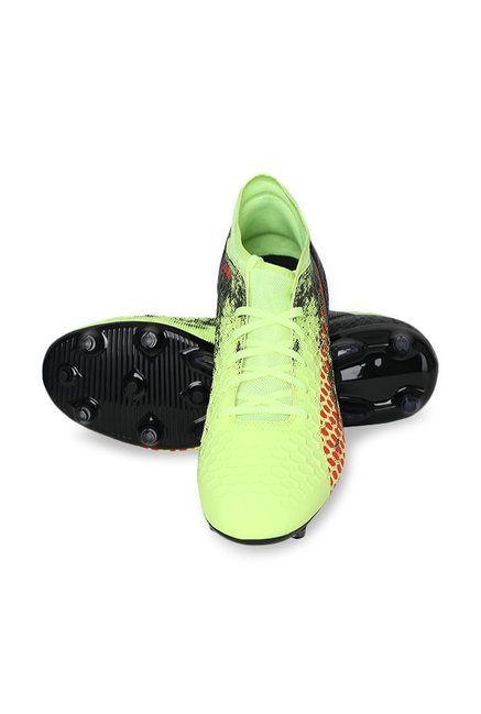 4608a5ad4105 Buy Puma Future 18.4 FG AG Fizzy Yellow   Black Football Shoes for ...