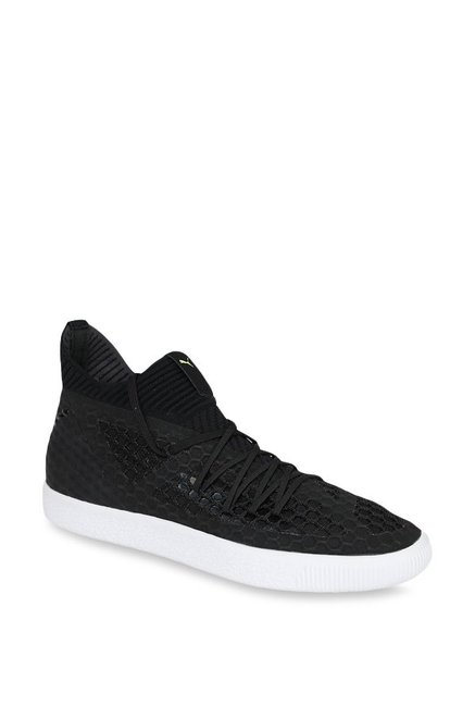 new styles 09a88 06238 Buy Puma Future 18.1 Netfit Clyde Black & White Football ...