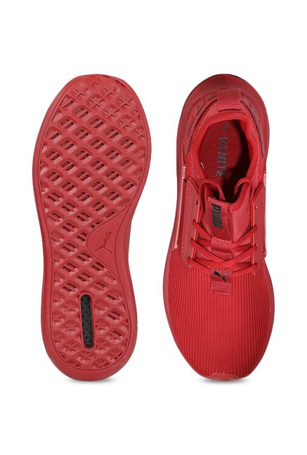 7eeef9465fc1 Buy Puma Ignite Limitless SR Red Dahlia Training Shoes for Men at ...