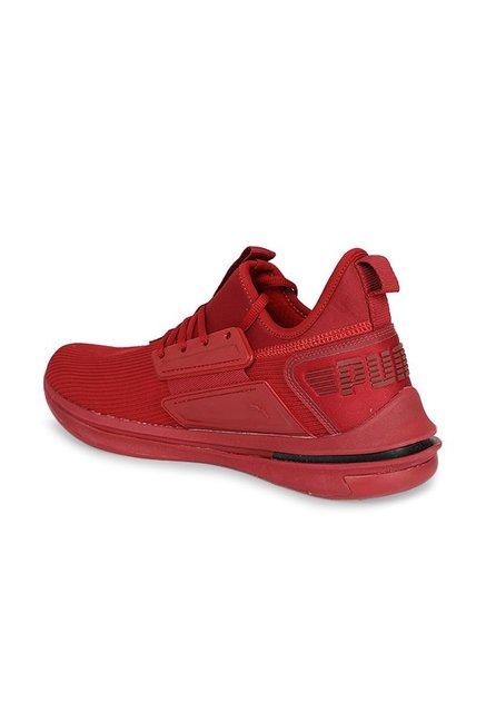timeless design e4188 f2c4f Buy Puma Ignite Limitless SR Red Dahlia Training Shoes for ...