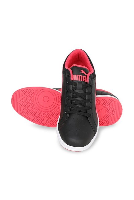 33af61e02f8 Buy Puma Ikaz Lo V2 Black   Paradise Pink Sneakers for Women at Best ...