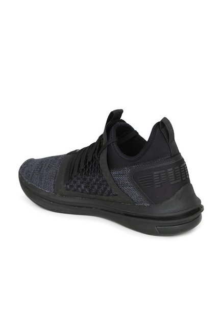 Buy Puma Ignite Limitless SR Netfit Black Training Shoes for Men at ... 0eab2fc53