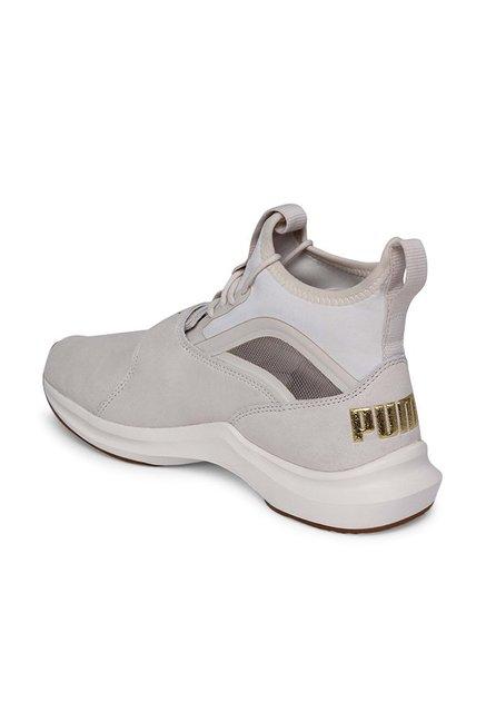 b520af698fd Buy Puma Phenom Shimmer Whisper White Training Shoes for Women at ...
