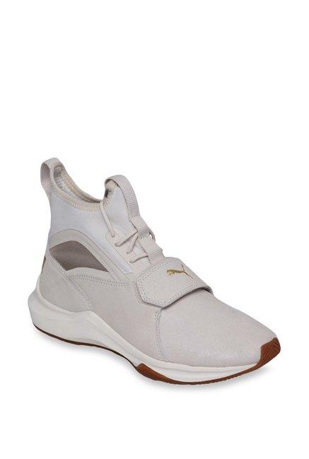 2170183f293 Buy Puma Phenom Shimmer Whisper White Training Shoes for ...