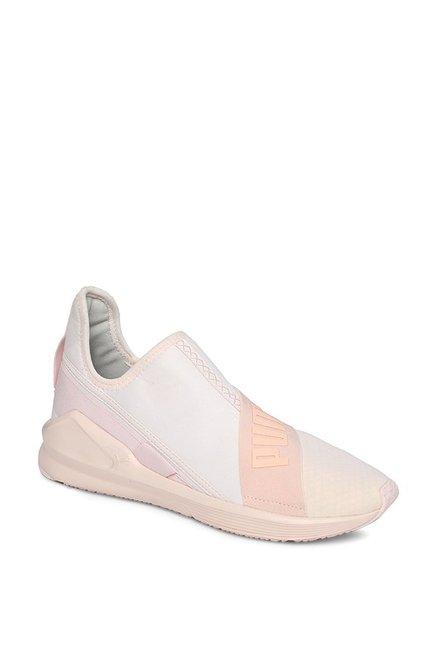 dde9ed74c4c4 Buy Puma Fierce Peach   Pearl Pink Training Shoes for Women at ...