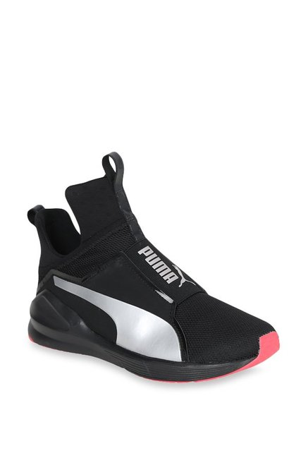 1bc0fd0a9b3c33 Buy Puma Fierce Core Black   Silver Training Shoes for Women at Best Price    Tata CLiQ