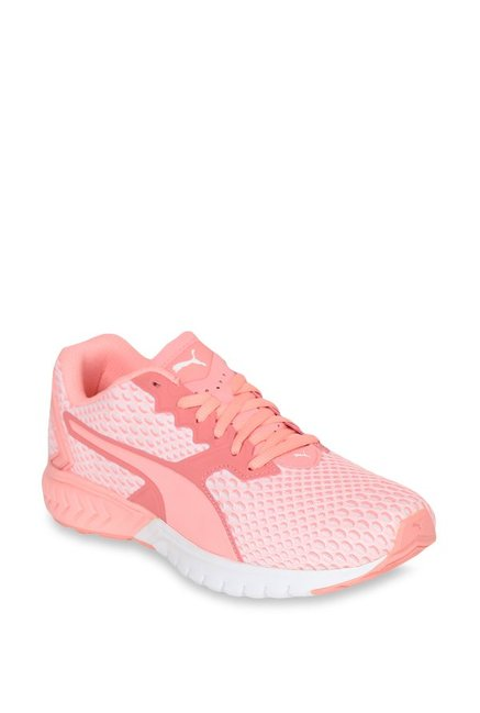 f4ec86f3832 Buy Puma Ignite Dual New Core Soft Fluo Peach Running Shoes for Women at Best  Price   Tata CLiQ