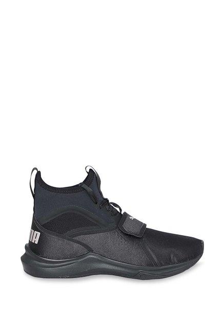 2c52752f45e2d8 Buy Puma Phenom Satin EP Black Training Shoes for Women at Best ...
