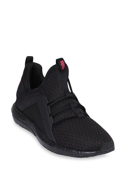 9247448c7351 Buy Puma Mega NRGY Black Running Shoes for Women at Best Price   Tata CLiQ