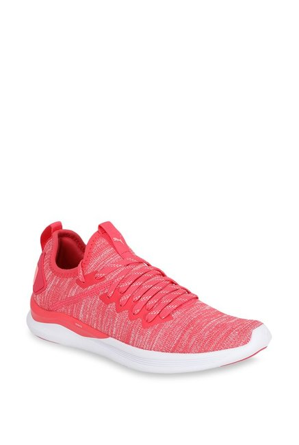 online store 9bfd1 55426 Buy Puma Ignite Flash evoKNIT Paradise Pink Running Shoes ...