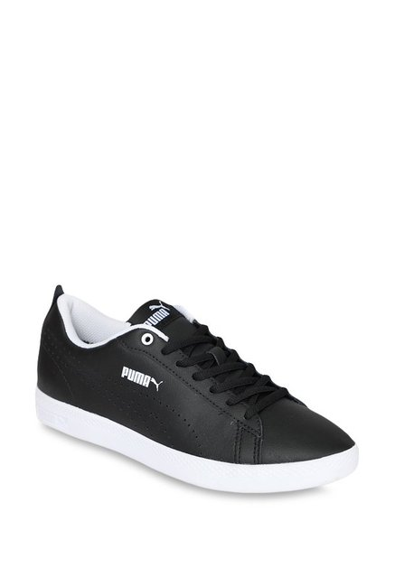 bcfa3a9fe533 Buy Puma Smash V2 L Perf Black Sneakers for Women at Best Price ...