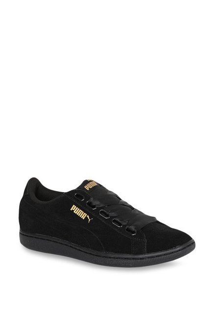 Buy Puma Vikky Ribbon S Black Sneakers for Women at Best Price ... cae718c97