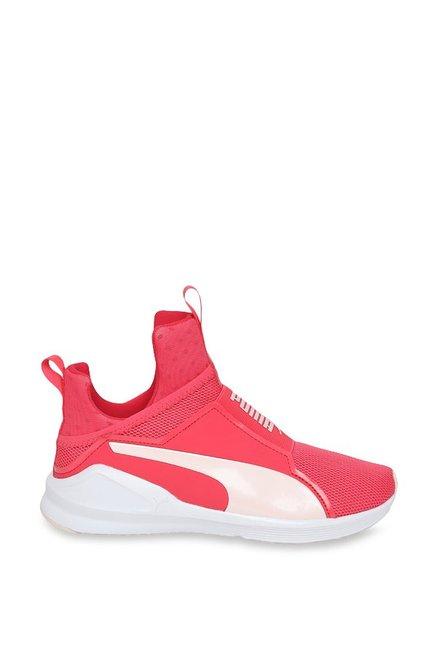 59cb54aa2c1e Buy Puma Fierce Core Paradise Pink   White Training Shoes for Women ...