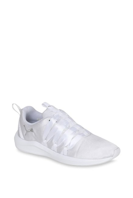 cc05349119ca Buy Puma Prowl Alt Satin White Training Shoes for Women at Best Price    Tata CLiQ