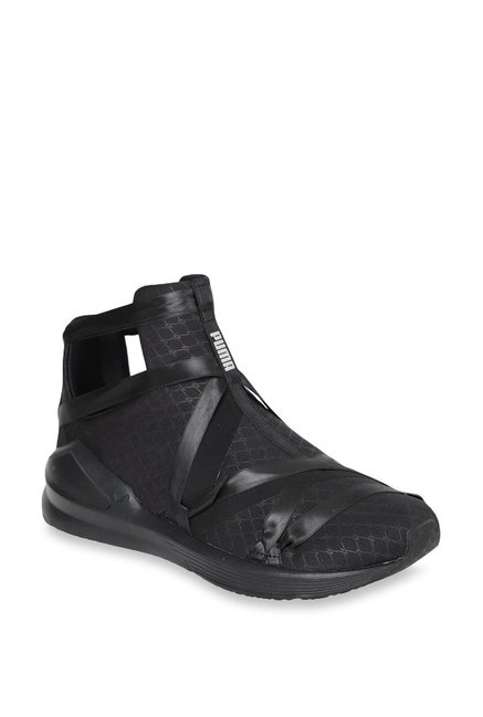 a7e2a756cb9 Buy Puma Fierce Rope Satin EP Black Training Shoes for Women at Best Price    Tata CLiQ
