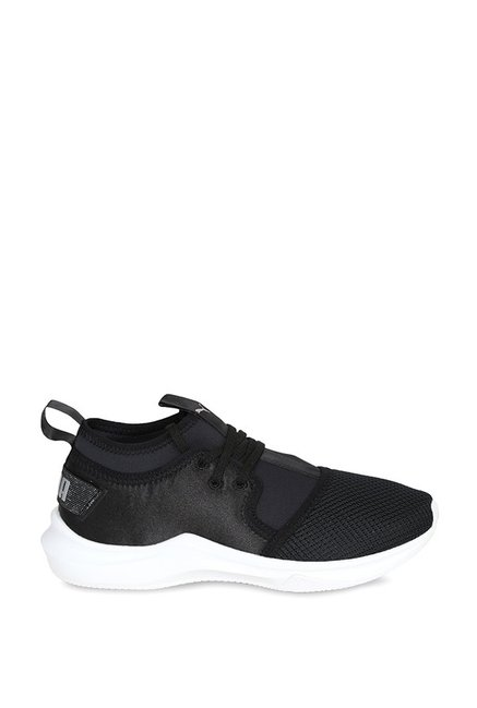 3e405e40898cb2 Buy Puma Phenom Low Satin EP Black Training Shoes for Women at Best ...