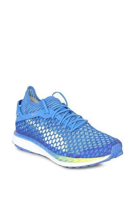 85eeb5475f2 Buy Puma Speed Ignite Netfit 2 Nebulas Blue Running Shoes for ...