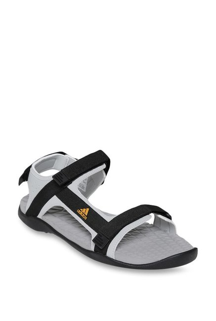 459a66fc47ac Buy Adidas Ravish Grey   Black Floater Sandals for Men at Best Price   Tata  CLiQ