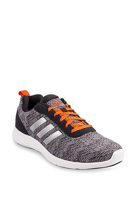 comprare adidas adiray grey & black scarpe da corsa per gli uomini al massimo