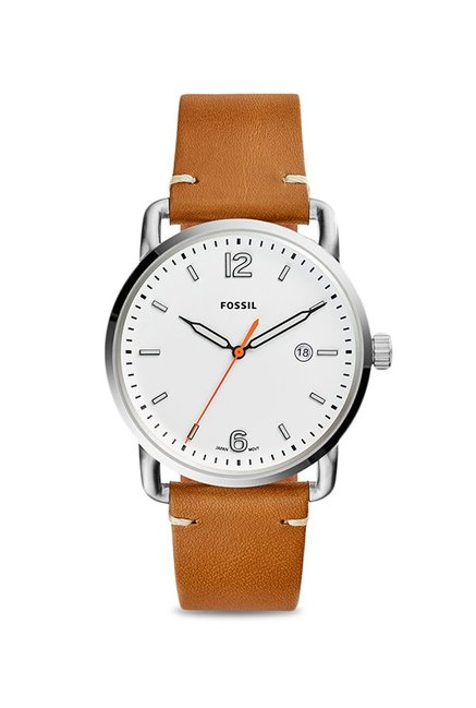 5dca4f65c63 Buy Fossil FS5395 The Commuter Analog Watch for Men at Best Price   Tata  CLiQ