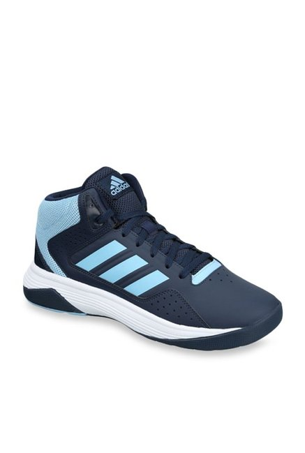 e1180c6958f Buy Adidas Cloudfoam Ilation Mid Navy Blue Basketball Shoes for Men at Best  Price   Tata CLiQ
