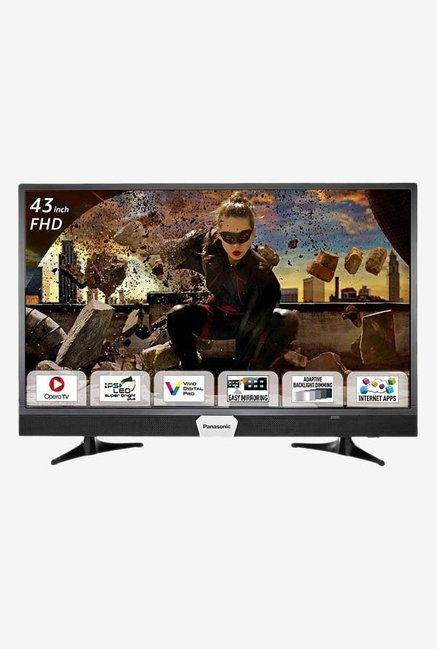 Panasonic TH-W43ES48DX 108 cm (43 inches) Smart Full HD LED TV (Black)
