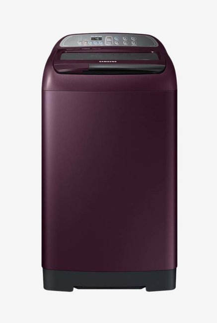 Samsung WA65M4000HP/TL 6.5 Kg Fully-Automatic Top Load Washing Machine (Maroon)