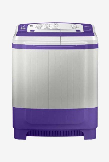 Samsung WT82M4000HB/TL 8.2 Kg Semi-Automatic Top Load Washing Machine (Light Grey/Blue)