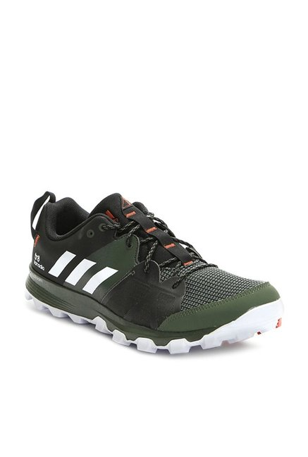 Buy Adidas Kanadia 8 Trail Olive Running Shoes for Men at