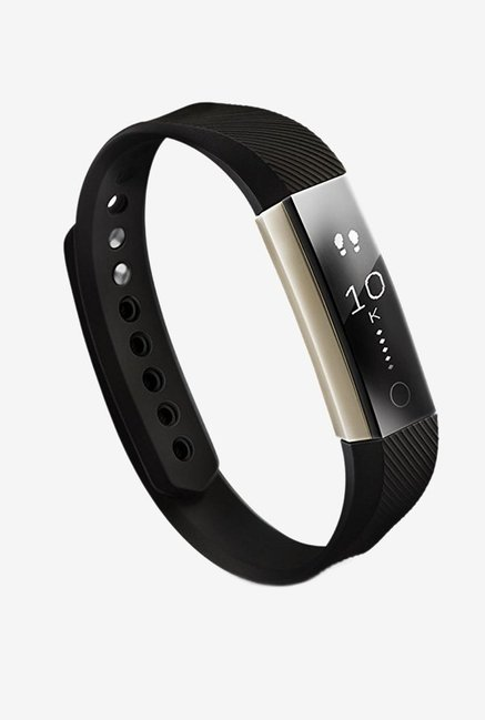 Syska SF-38 Prime Smart Fitness Band with Heart Rate Monitor (Black)
