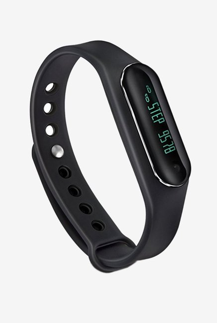 Syska SF-31 Active Smart Fitness Band with HR Monitor (Black)