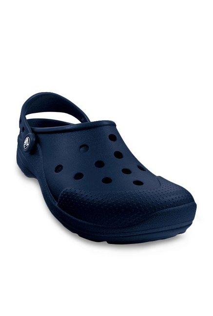 eb1ffb8f3f Buy Crocs Ultimate Cloud Navy Back Strap Clogs for Men at Best ...