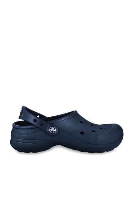 2405a6d5c4 Buy Crocs Ultimate Cloud Navy Back Strap Clogs for Men at Best Price ...