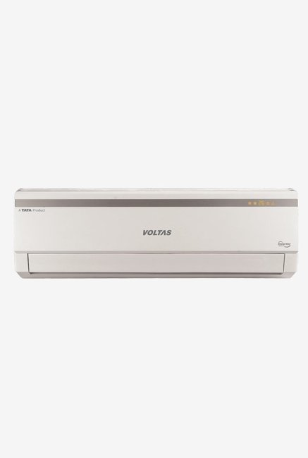 Voltas 1.2 Ton Inverter 5 Star (BEE rating 2018) 155V LZC Copper Split AC (White)