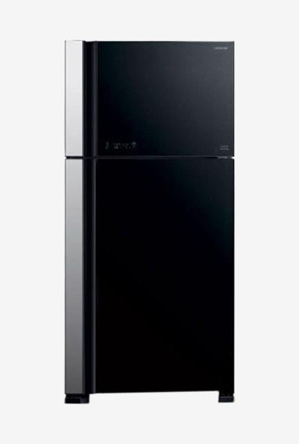 Hitachi VG660PND3 (GGR) 601L 2S Double Door Refrigerator (Glass Grey)