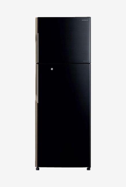 Hitachi H310PND4K (PBK) 289L Inverter Double Door Refrigerator (Black)