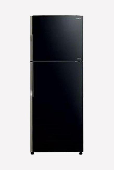 Hitachi VG440PND3 (XGR) 415L 3S Double Door Refrigerator (Black)