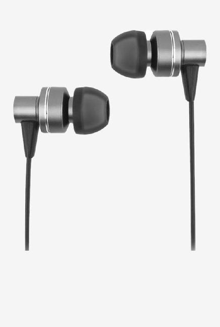 Ambrane EP 29 Stereo Music Wired Headset with Mic  Black