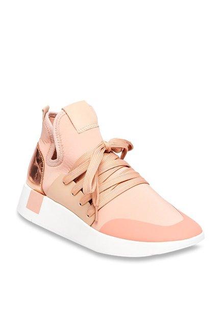 64eab2e52b9 Buy Steve Madden Shady Blush Pink Sneakers for Women at Best ...