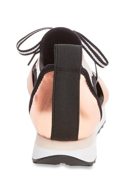 66ec70fbbf8 Buy Steve Madden Arctic Rose Gold Sneakers for Women at Best Price ...