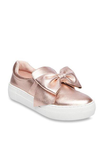 steve madden sneakers rose gold