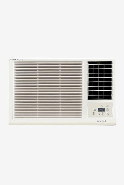 Voltas 0.75 Ton 2 Star (BEE rating 2018) 102 LZF Copper Window AC (White)