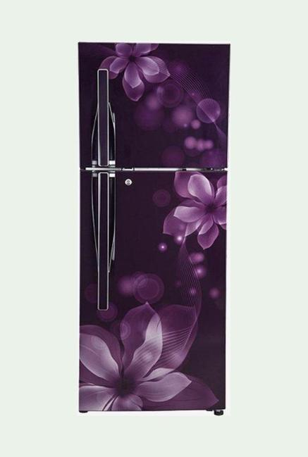LG GL-T292RPOU 260L 3S Double Door Refrigerator (Purple Orchid)