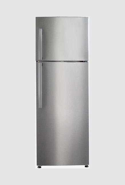 Haier HRF-3674PSS-E 347L 3S Double Door Refrigerator (Chocolate Glass)