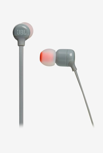 JBL Tune T110BT In the Ear Bluetooth Headphones (Grey)