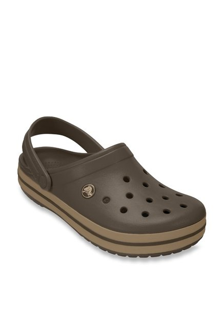 375f323e2 Buy Crocs Crocband Brown Back Strap Clogs for Women at Best Price ...