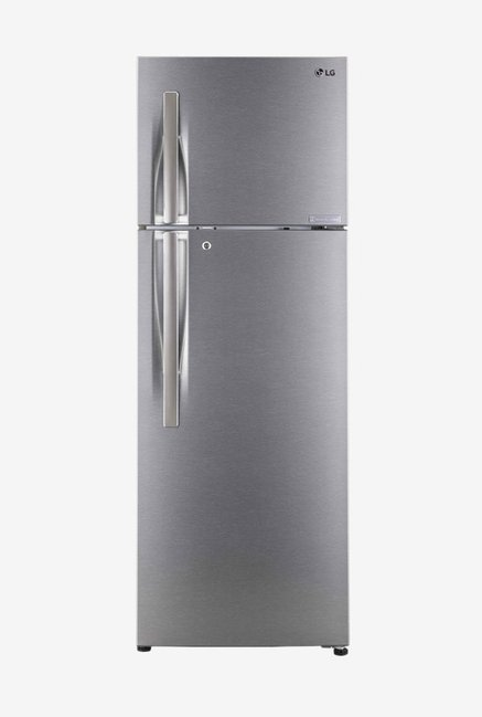 LG GL-C322RDSU 308 L Inverter 3 Star Frost Free Double Door Refrigerator (Shiny Steel)