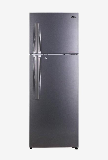 LG GL-C372RDSU 335 L Inverter 3 Star Frost Free Double Door Refrigerator (Shiny Steel)