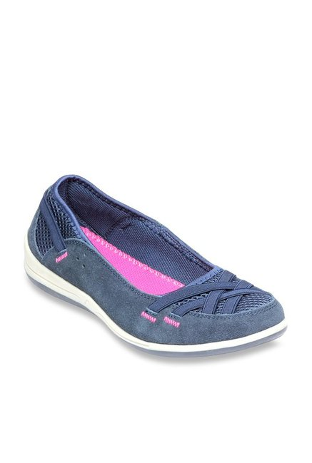 02e32529bf5 Buy Pavers England Navy Flat Ballets for Women at Best Price   Tata CLiQ